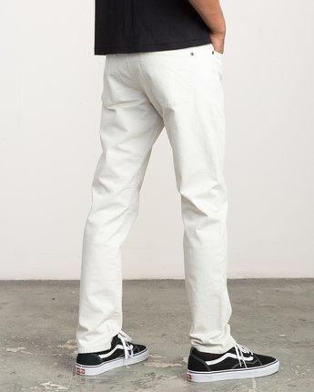 4 Daggers Slim-Straight Twill Pants Silver M3301DAG RVCA