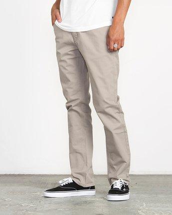 1 Stay RVCA Straight Fit Pants Green M3306SRP RVCA