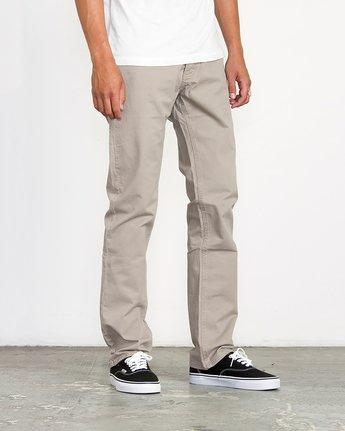3 Stay RVCA Straight Fit Pants Green M3306SRP RVCA