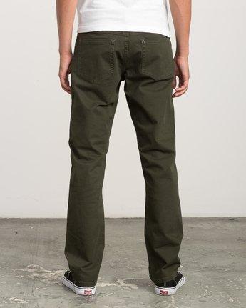 3 Stay RVCA Straight Fit Pants Camo M3306SRP RVCA