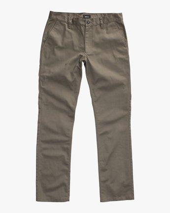 5 Week-End Pants Green M3307WEP RVCA