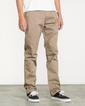 4 Week-End Pants Green M3307WEP RVCA