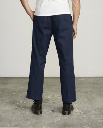 1 Spanky Okapi Cropped Relaxed Fit Pant Blue M330WROP RVCA