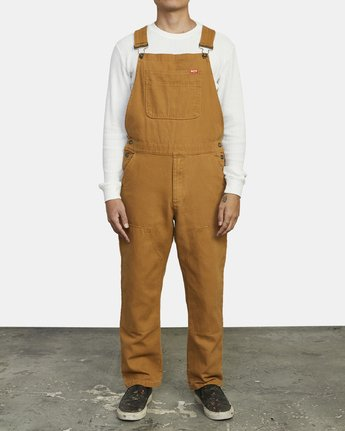 0 MATTY'S OVERALL Brown M332WRMO RVCA