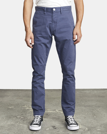 8 DAGGERS SLIM FIT CHINO pant Blue M3443RDC RVCA