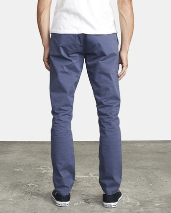 3 DAGGERS SLIM FIT CHINO pant Blue M3443RDC RVCA