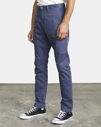 4 DAGGERS SLIM FIT CHINO pant Blue M3443RDC RVCA