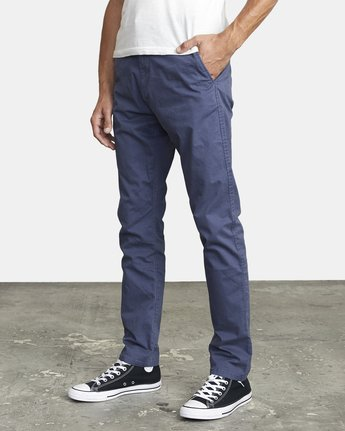 7 DAGGERS SLIM FIT CHINO pant Blue M3443RDC RVCA