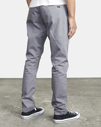 6 DAGGERS SLIM FIT CHINO pant Grey M3443RDC RVCA