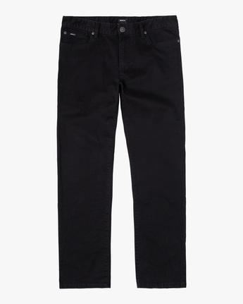 0 DAGGERS SLIM FIT TWILL PANT Black M3453RDT RVCA