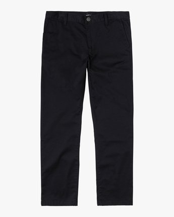 1 week-end Stretch straight fit Pant Black M3493RWS RVCA