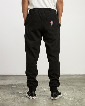 4 Christian Hosoi Sweat Pant Black M350SRHS RVCA