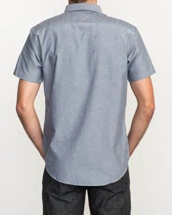 4 That'll Do Oxford Shirt Blue M3514TDS RVCA