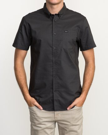 1 That'll Do Oxford Shirt Black M3514TDS RVCA