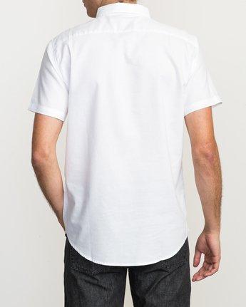 3 That'll Do Oxford Shirt White M3514TDS RVCA