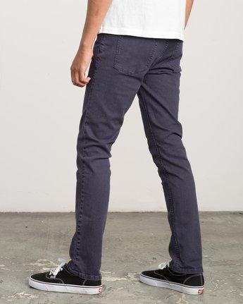 2 Daggers Pigment Slim-Straight Jeans Grey M351QRDP RVCA