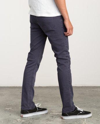 4 Daggers Pigment Slim-Straight Jeans Grey M351QRDP RVCA