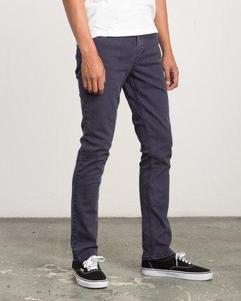 5 Daggers Pigment Slim-Straight Jeans Grey M351QRDP RVCA