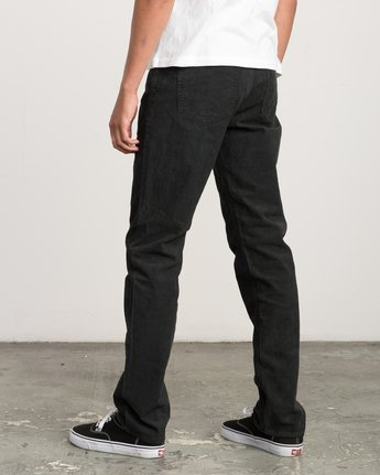 2 Daggers Pigment Corduroy Jeans Black M352QRDC RVCA