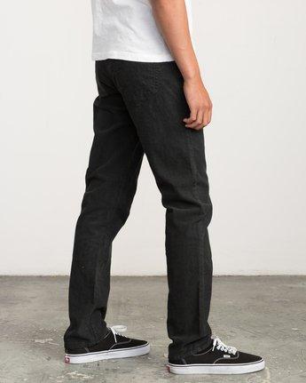 3 Daggers Pigment Corduroy Jeans Black M352QRDC RVCA