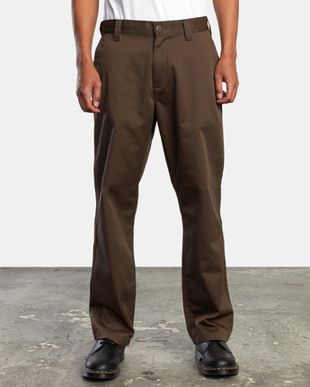 8 AMERICANA RELAXED FIT CHINO PANT Brown M3583RAC RVCA