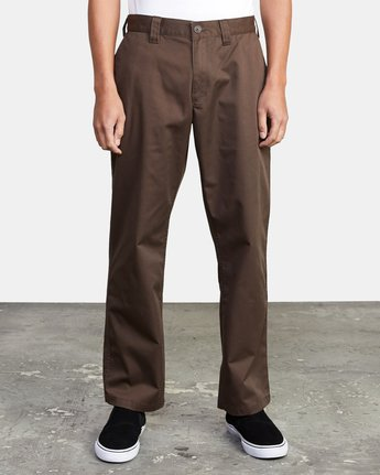 0 AMERICANA RELAXED FIT CHINO PANT Brown M3583RAC RVCA