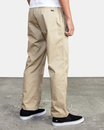 6 AMERICANA RELAXED FIT CHINO PANT Beige M3583RAC RVCA