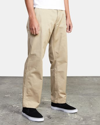 7 AMERICANA RELAXED FIT CHINO PANT Beige M3583RAC RVCA