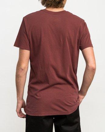 3 Ptc 2 Pigment T-Shirt Red M3910PTC RVCA