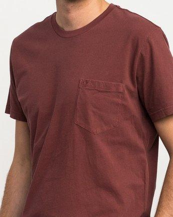 4 Ptc 2 Pigment T-Shirt Red M3910PTC RVCA