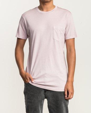 1 Ptc 2 Pigment T-Shirt Pink M3910PTC RVCA