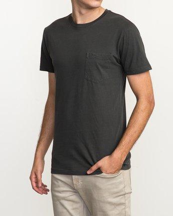 2 Ptc 2 Pigment T-Shirt Black M3910PTC RVCA