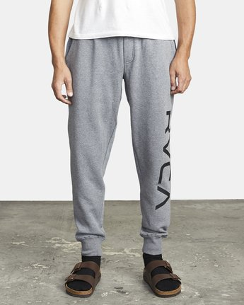 1 BIG RVCA SWEATPANT Grey M3983RBR RVCA