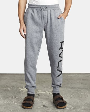 2 BIG RVCA SWEATPANT Grey M3983RBR RVCA