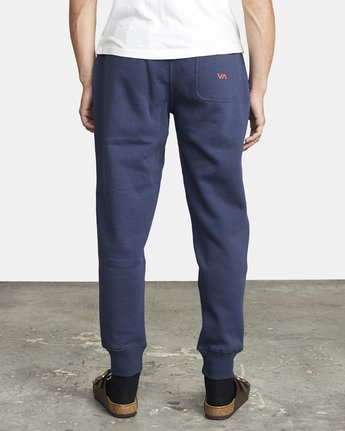 3 BIG RVCA SWEATPANT Blue M3983RBR RVCA