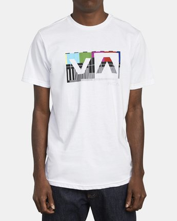 1 BALANCE BOX T-SHIRT White M4011RBA RVCA