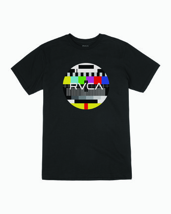 0 MOTORS FILL T-SHIRT Black M4011RMO RVCA