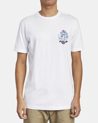 1 MUSHY KID T-SHIRT White M4011RMU RVCA