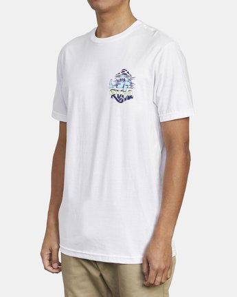 3 MUSHY KID TEE White M4011RMU RVCA