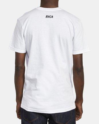 6 SATURNED T-SHIRT White M4011RSA RVCA