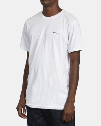 4 TEST SCAN T-SHIRT White M4011RTE RVCA