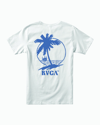 1 NAT CORP IND SHORT SLEEVE TEE White M4012RNA RVCA