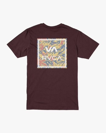 1 VA ALL THE WAY SHORT SLEEVE TEE Red M4013RVA RVCA