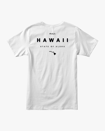 0 Da Aina T-Shirt White M401QRDE RVCA