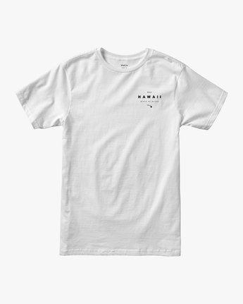 1 Da Aina T-Shirt White M401QRDE RVCA