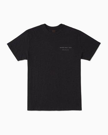 1 Byron Bay T-Shirt Black M401SRBY RVCA