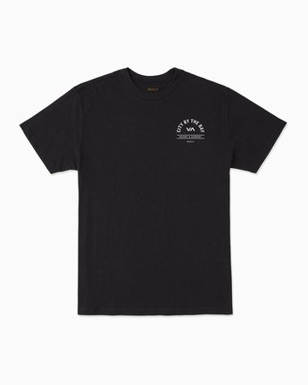1 City By The Bay T-Shirt Black M401SRCI RVCA