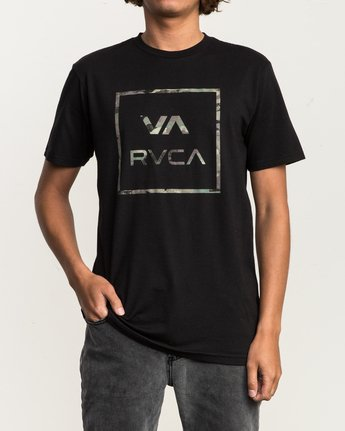 1 Fill All The Way T-Shirt Black M401SRFI RVCA