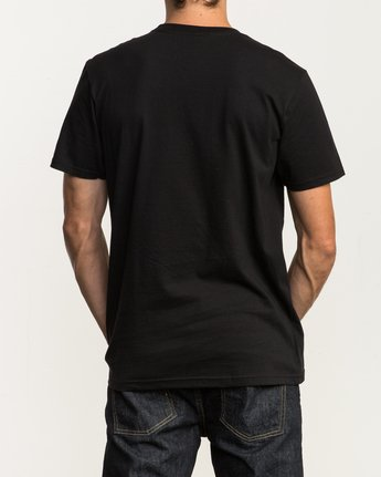 3 Graded T-Shirt Black M401SRGD RVCA