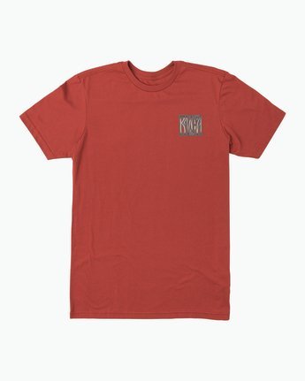 1 Gretta T-Shirt Red M401SRGR RVCA